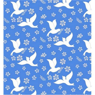 Premium Anti-Pill Doves Of Peace Fleece 580