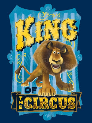 Premium Anti-Pill Madagascar King Of The Circus Panel Fleece B80