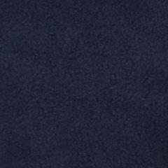 Dark Navy Blue Solid Fleece