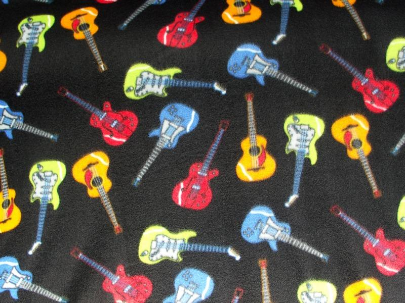 Guitars On Black Fleece 275