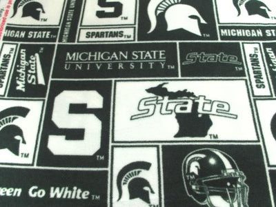 Premium Anti-Pill Michigan State Fleece B556
