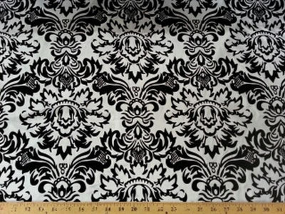 Taffeta Flocking DAMASK FT-6