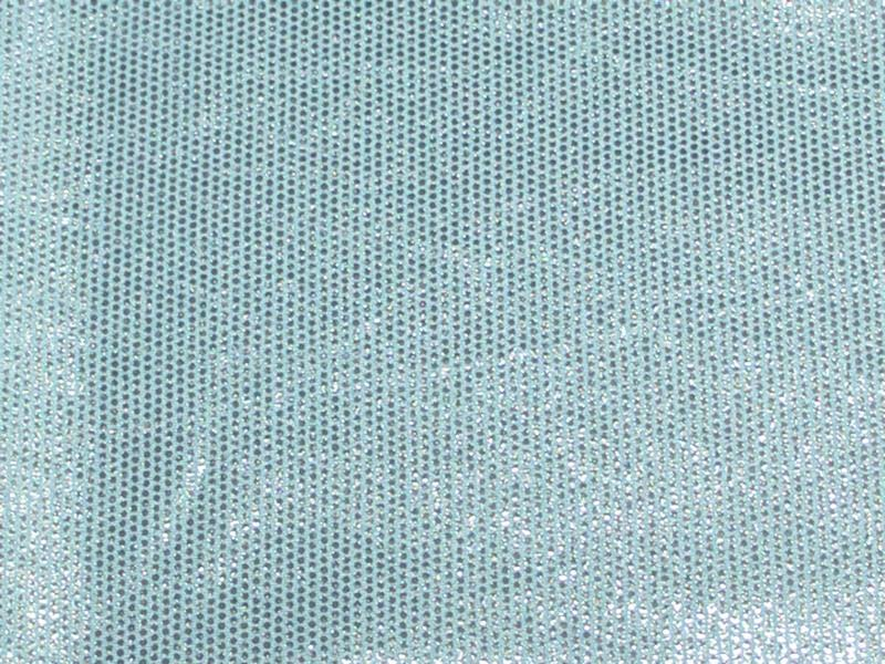 Sparkle Foil Spandex LIGHT BLUE