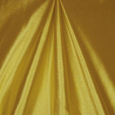 Shiny Nylon Spandex Stretch Satin Gold