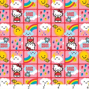 Hello Kitty Rain Or Shine Pink Cotton HK-19