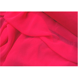 Chiffon 44 Inch Wide HOT PINK