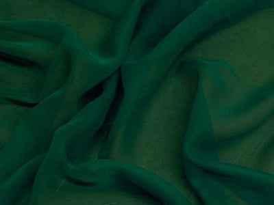 Chiffon 44 Inch Wide HUNTER GREEN