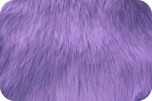 Long Pile Shaggy Fur LAVENDER