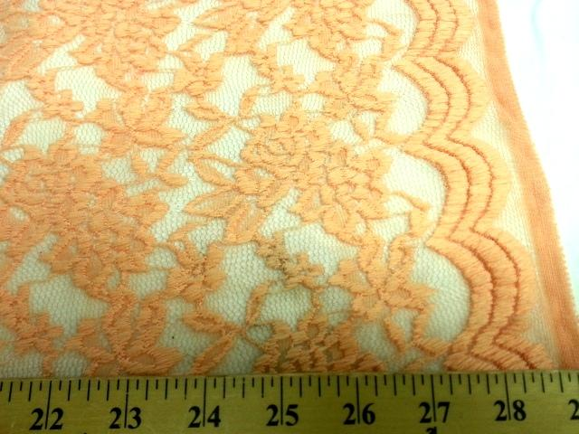 Jacquard Stretch Lace LIGHT PEACH
