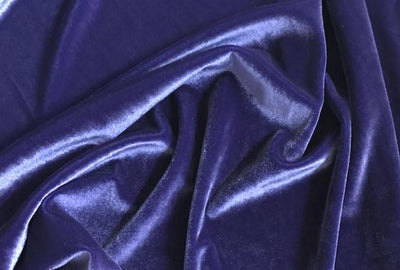 Plush Spandex Velvet PURPLE LIGHT