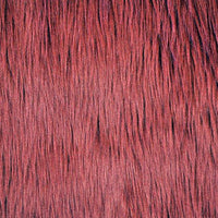 Long Pile Shaggy Fur MAROON