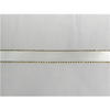 "1/4"" Gold Metallic Edge Satin Ribbon"