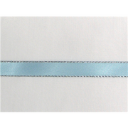 "1/4"" Silver Metallic Edge Satin Ribbon"