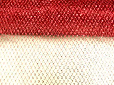 Metallic Mesh RED
