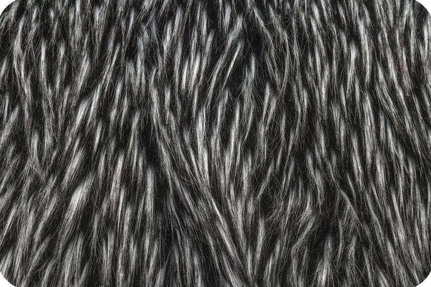Falcon Fur Black/Silver MF-21