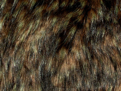 Spotted Wolf Lot 2 Minky Fur MF-24