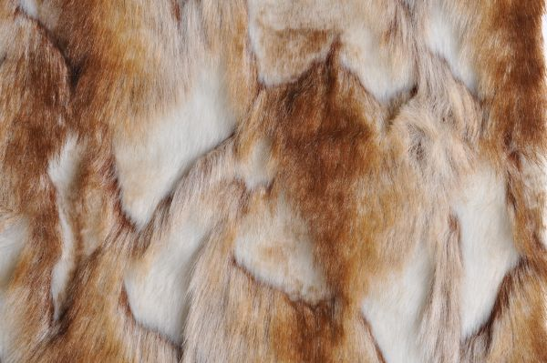 Brandy Fox Copper Minky Fur MF-30 LAST PIECE MEASURES 1 YARD 24 INCHES
