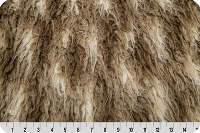 Mongolian Fur AFRICAN BEIGE/BROWN MF-43