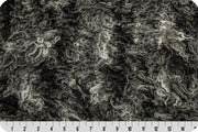 Mongolian Fur AFRICAN GREY/BLACK MF-44