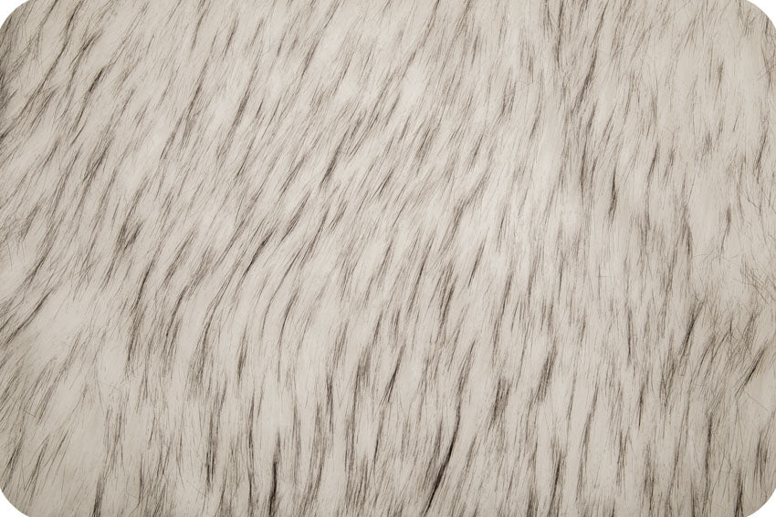 Norwegian Husky Fur White/Black MF-53
