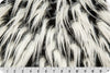 Spikey Shaggy Fur White/Black/Grey MF-55