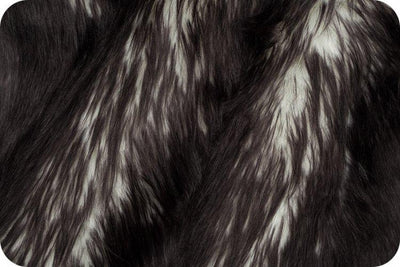 Long Pile Shaggy Fur CANDY SHAG BLACK MF-74