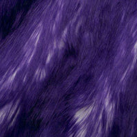 Long Pile Shaggy Fur CANDY SHAG PURPLE MF-75