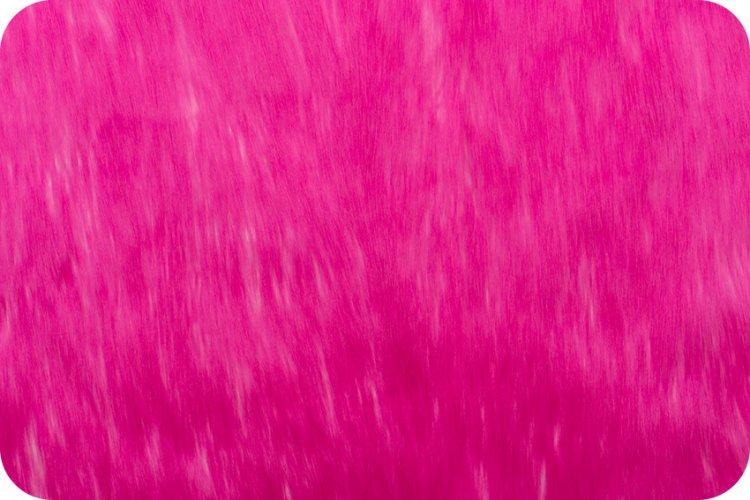 Long Pile Shaggy Fur CANDY SHAG HOT PINK MF-77