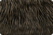 Fancy Ostrich Fur Black MF-9