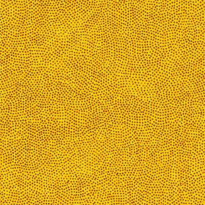 Micro Dot Metallic Foil Spandex YELLOW