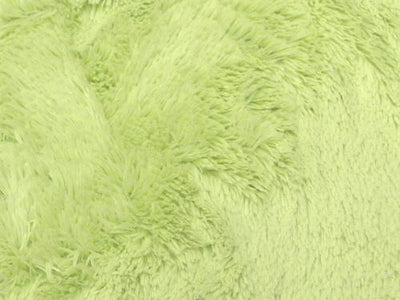 Minky Shaggy Fur LIME