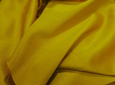 Stretch Heavy Weight Lamour Dull Satin MUSTARD SLS-17