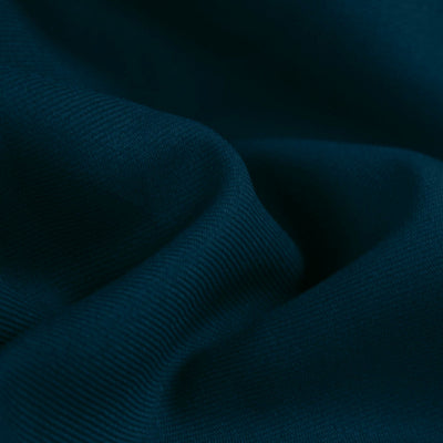 Navy Blue Poly Gabardine
