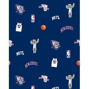 Anti-Pill New Jersey Nets Fleece B320