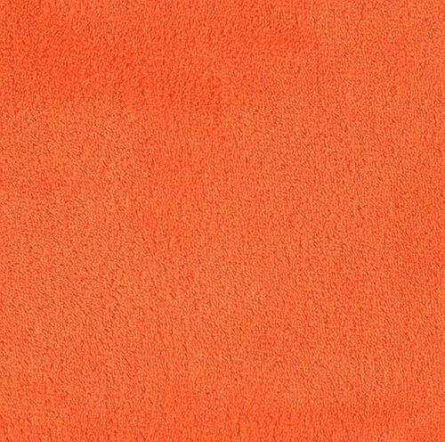 Minky Fleece Double Sided ORANGE