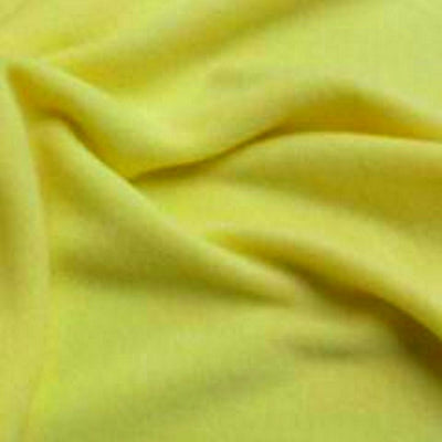 Pale Yellow Solid Fleece