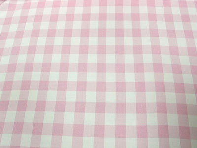 Poly Poplin Plaid PINK