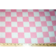 Checker Pink Fleece