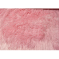 Long Pile Shaggy Fur PINK