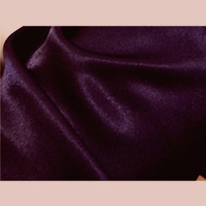 Crepe Back Satin Plum