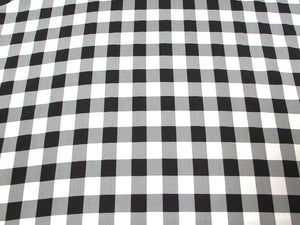 SWATCHES Poly Poplin Plaid