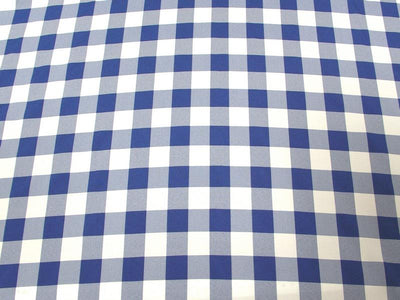 Poly Poplin Plaid BLUE