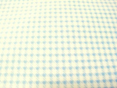Houndstooth Cuddle Fur BLUE