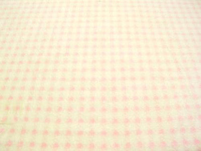 Houndstooth Cuddle Fur PINK