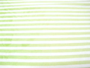 Striped Cuddle Fur LIME