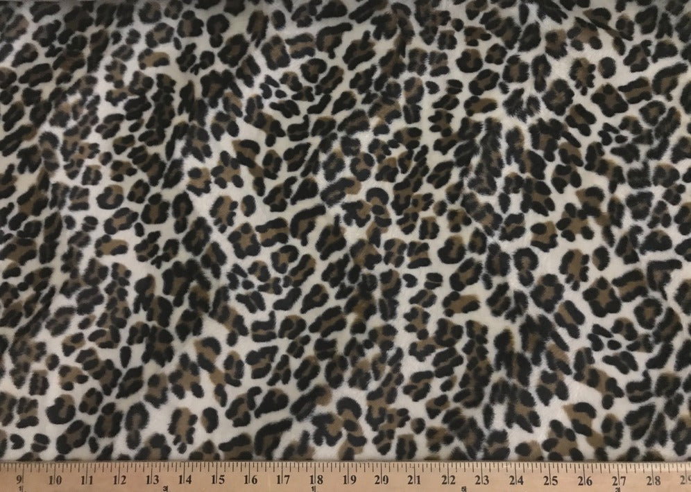 Velboa Animal Skins Fur Puma