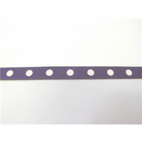 "3/8"" Grosgrain Ribbon W/Single Dots"