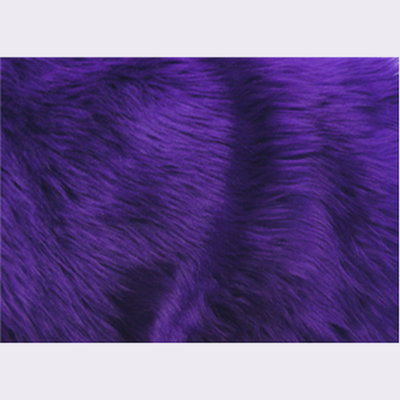 Long Pile Shaggy Fur PURPLE LOT 2