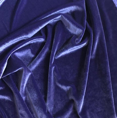 Plush Spandex Velvet PURPLE LOT 2