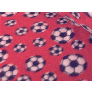 Soccer Red Fleece